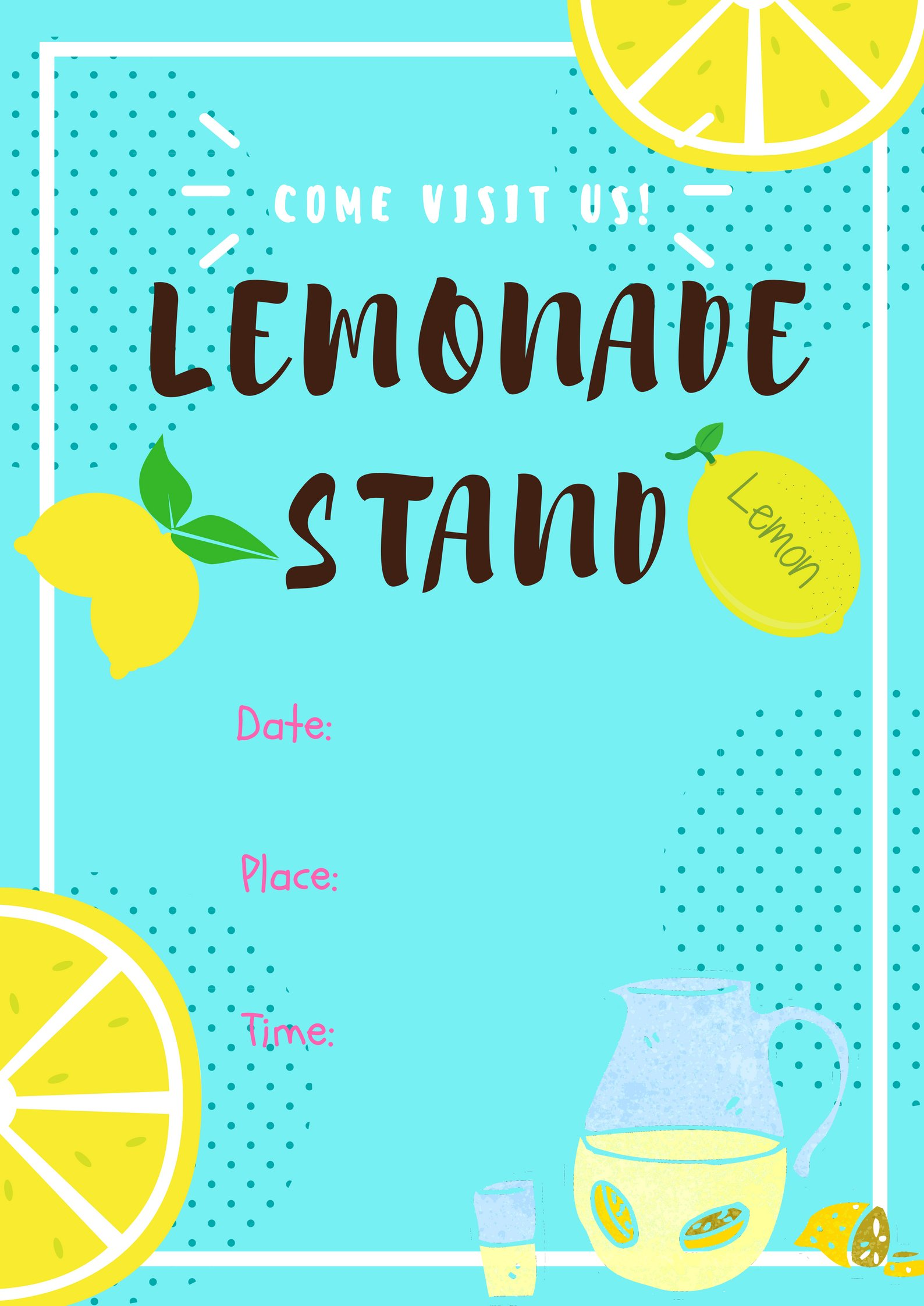 photograph about Lemonade Sign Printable called Do it yourself Lemonade Stand thats Tremendous Straightforward in the direction of Generate -with Cost-free