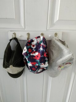 kids hat hook organizer