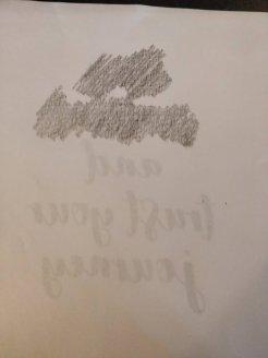 Transfer quote design onto canvas