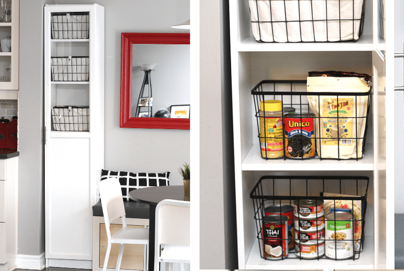 Free Standing Kitchen Pantry Cabinet.The Easiest Diy Kitchen Pantry Cabinet With The Ikea Billy