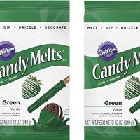 Wilton Dark Green Candy Melts, 12-Ounce(2pk)