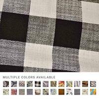 eLuxurySupply Fabric by The Yard - 100% Polyester Upholstery Sewing Fabrics - Blake Raven Pattern