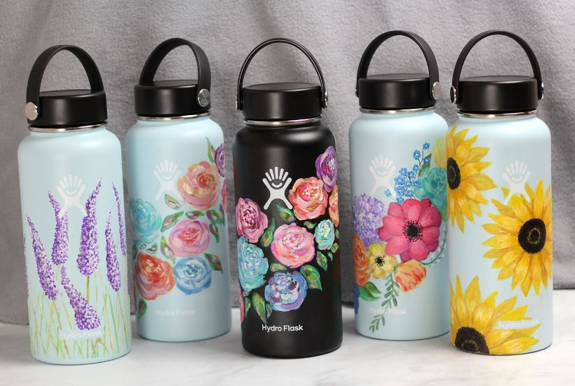 hydro flask painting ideas