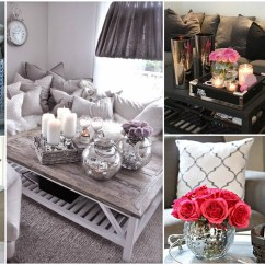 Living Room Coffee Table Decorations Rooms With Accent Chairs 20 Super Modern Decor Ideas That Will Amaze You