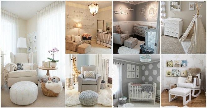 Baby Nursery Design And Decor Ideas Blue White Pastels Decorations Furniture Bedding Sofa Chair
