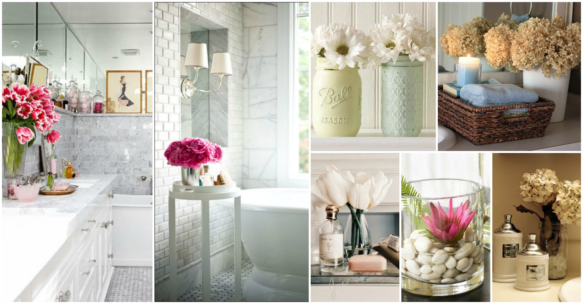 Decorate A Bathroom Relaxing Flowers Bathroom Decor Ideas That Will Refresh Your Bathroom