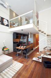 loft bedroom decor chic lofts homes casa tipo por tiny interior para mini catch eye via apartment room mezanino designs