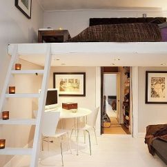 Loft Bed With Sofa Under Leather Repair North West London Chic Bedroom Decor Ideas That Will Catch Your Eye