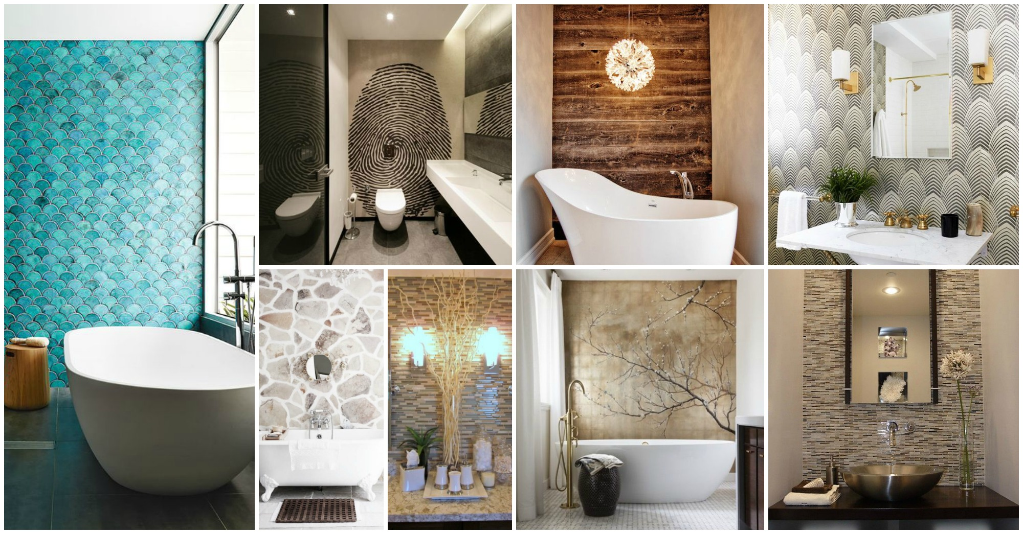 Which Wall Should Be The Accent Wall In A Bathroom