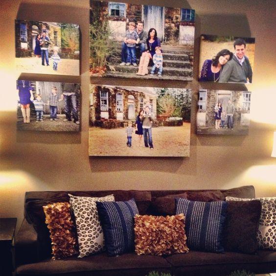 vivid family photos canvas