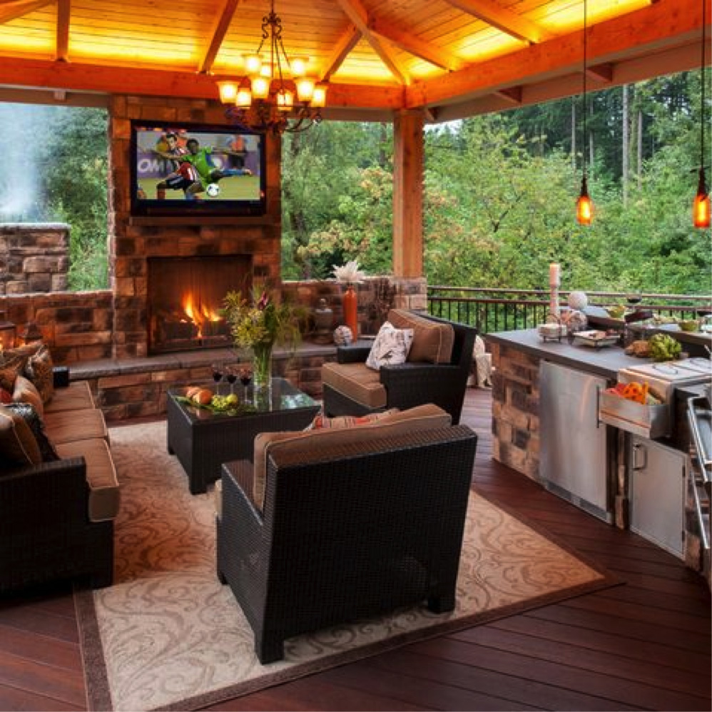 backyard kitchen ideas vegas hotels with amazing outdoor kitchens that you might have while living ...