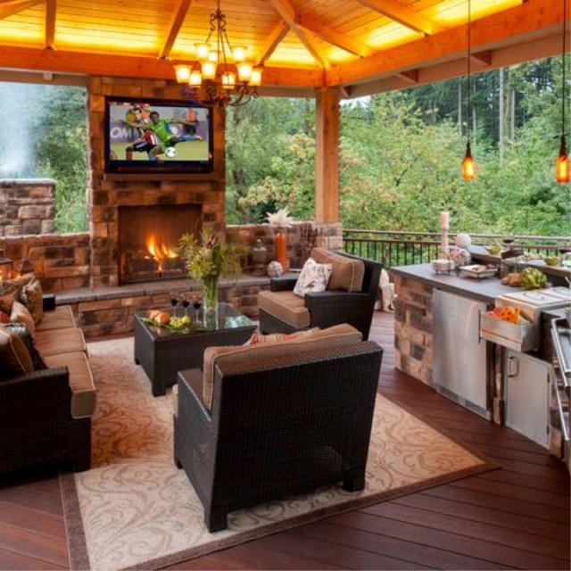 amazing outdoor kitchens that you might have while living your dream