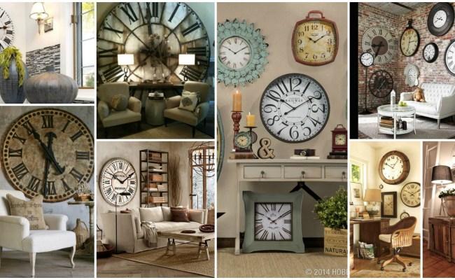 Impressive Collection Of Large Wall Clocks Decor Ideas