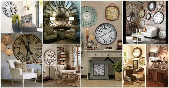 Large Wall Decorating Ideas Clocks Amusing Decorative Hobby