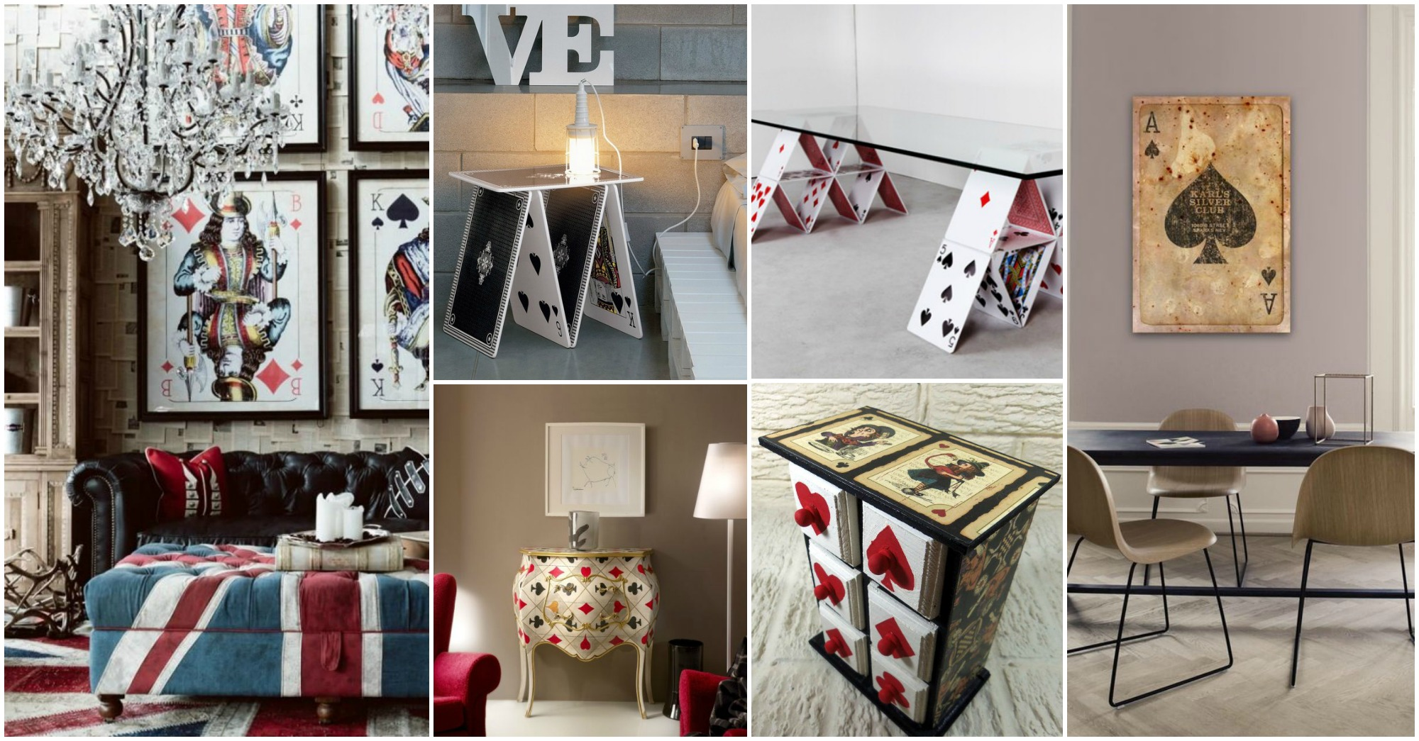 Fun Playing Cards Interior Decor Ideas That You Will Have