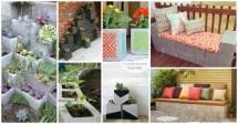Easy Decorative Garden Projects Cinder Blocks