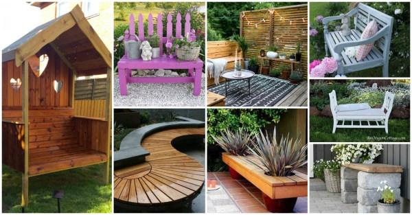 diy front yard benches