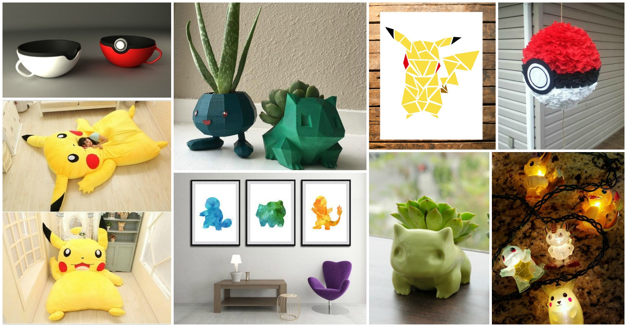 Adorable Pokemon Go Home Decor Ideas That Will Blow Your Mind