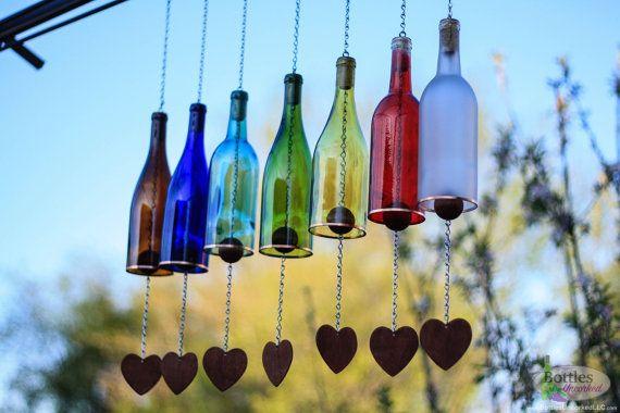 Glass Bottles Garden Decor That Will Steal The Show