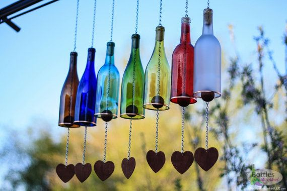 botellas de vino-jardín-decor12