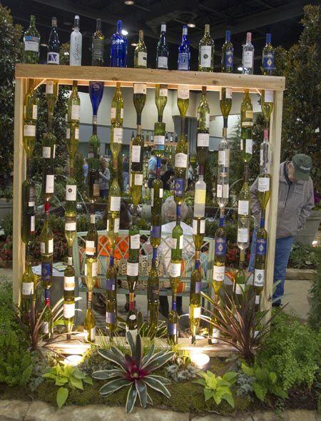 botellas de vino-jardín-decor9