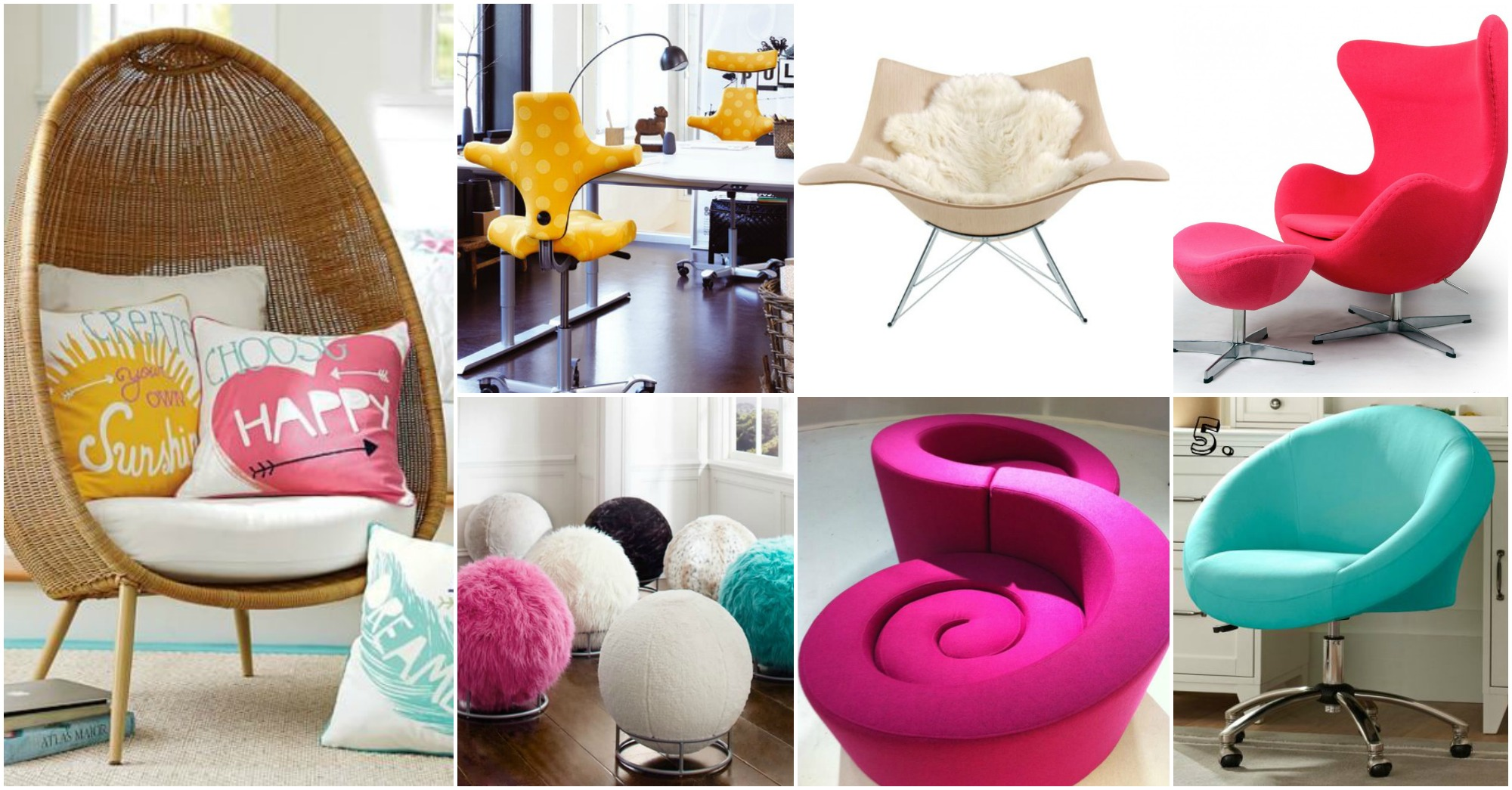 Cool Chair Designs That Will Add Color To Your Life