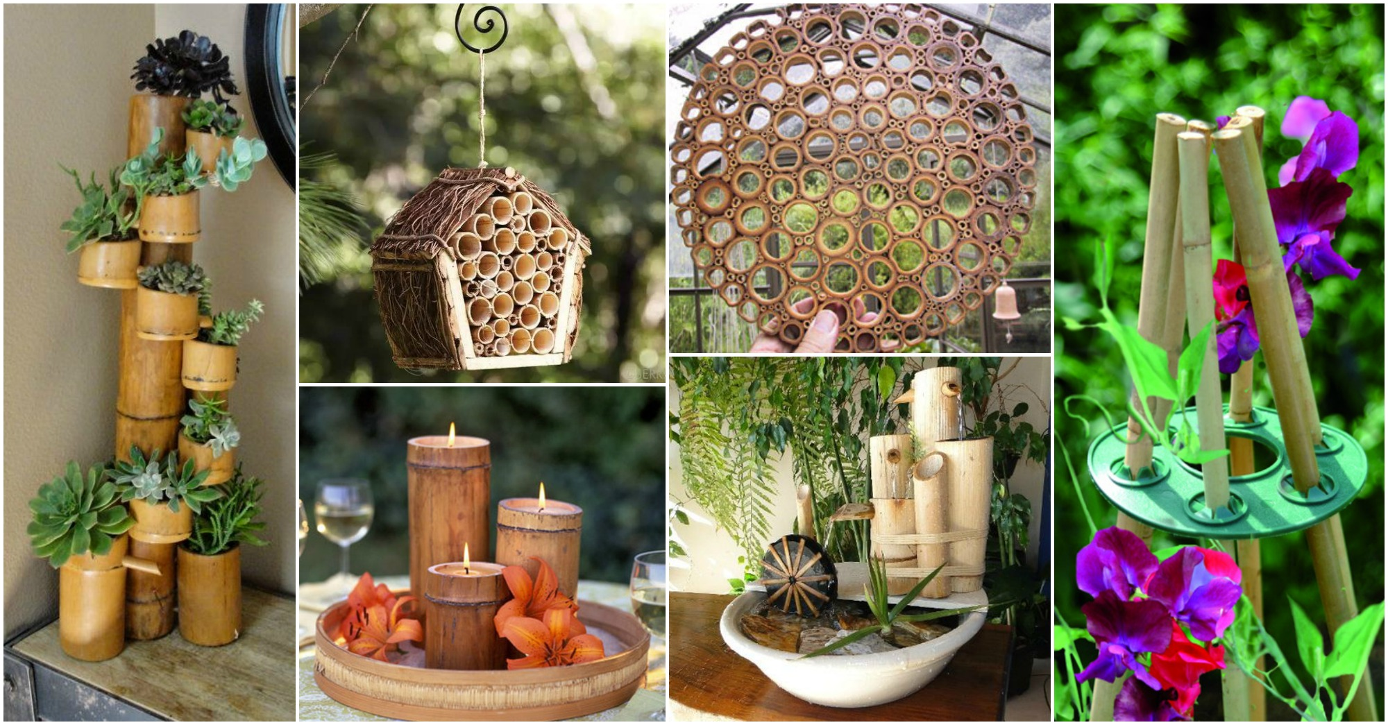 DIY Easy Bamboo Crafts That You Will Have To See