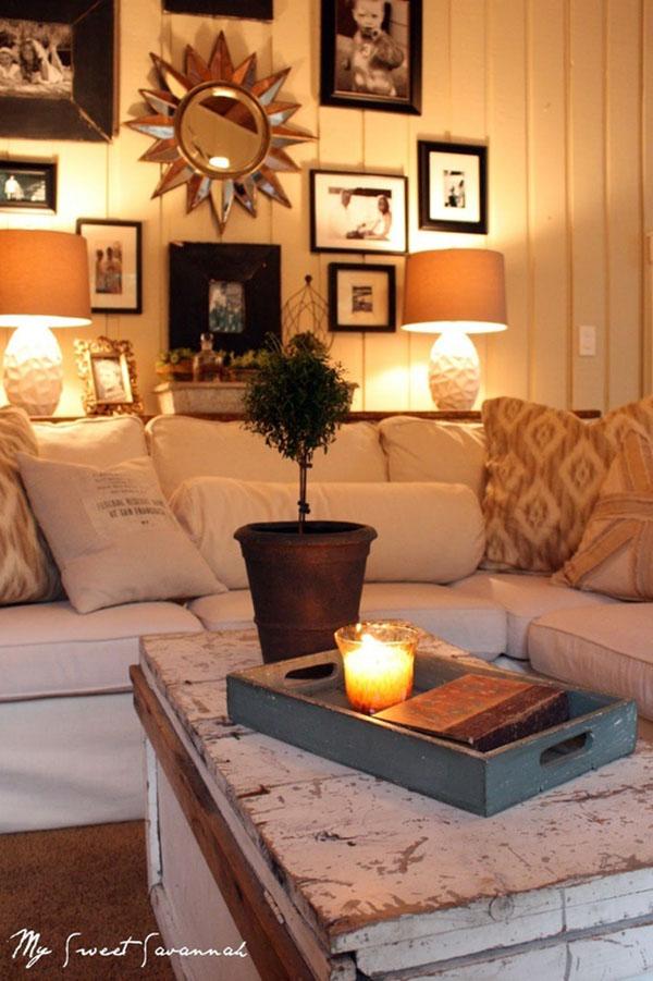 Zen Living Room Design Small Apartments