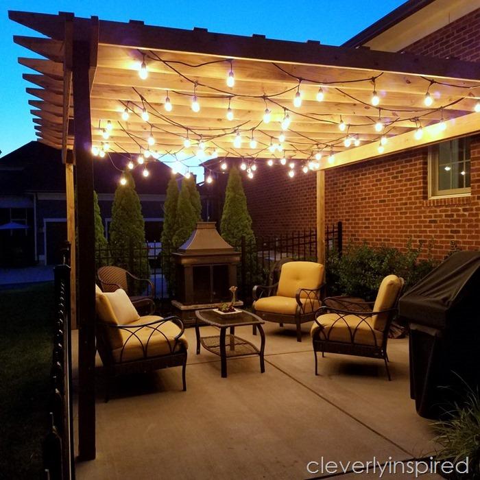 Backyard String Lights Ideas