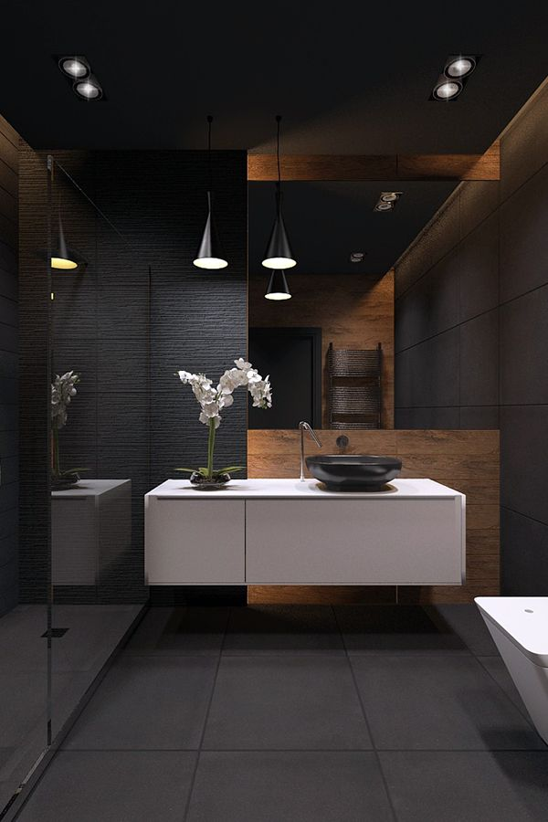 Elegant Bathrooms With Wood That Will Make A Statement