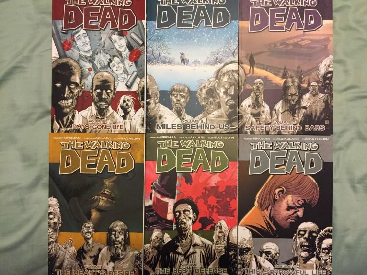 The Walking Dead Vols. 1-6