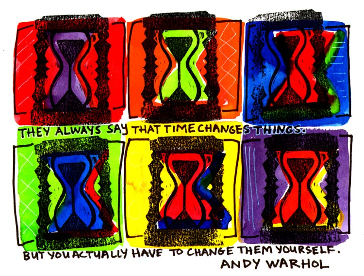 Andy Warhol Change Quote