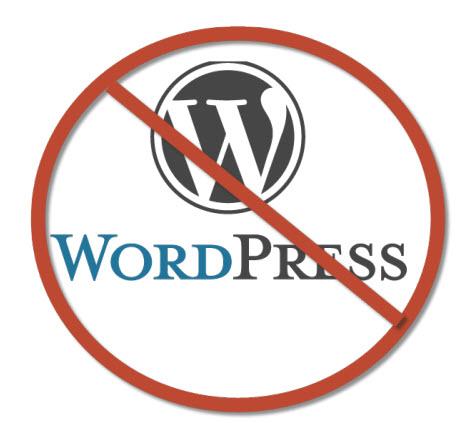 No WordPress