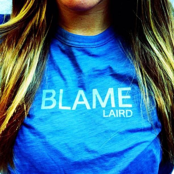 laird hamilton blame laird phrase shirt