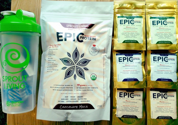 sprout living organic vegan superfood protein