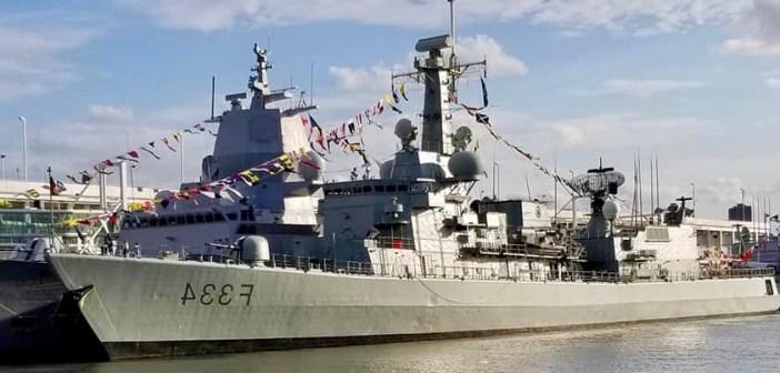 Navy Ship 'D. Francisco de Almeida' received Portuguese community in New York
