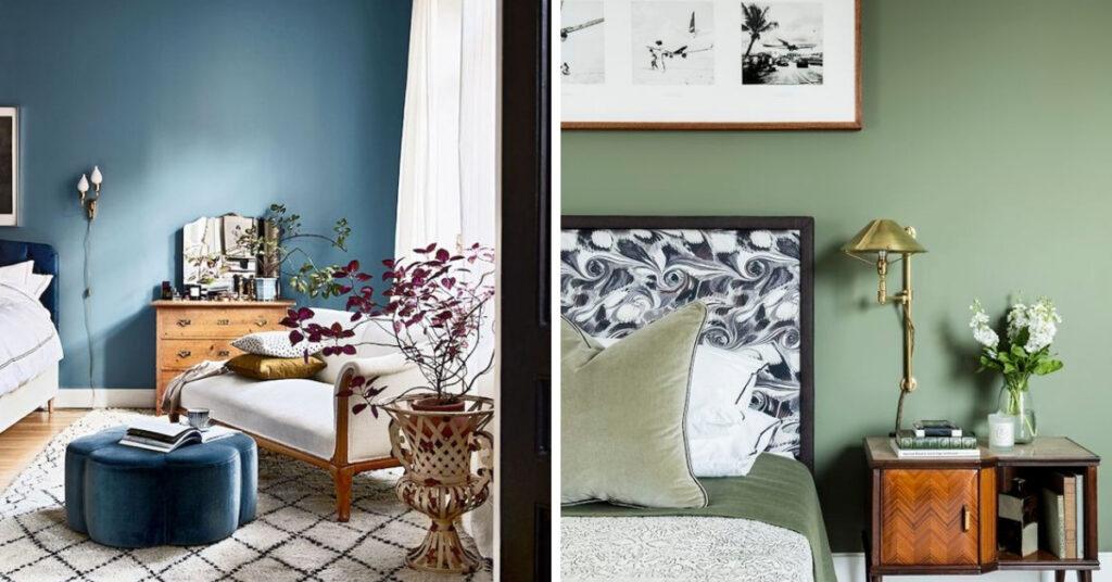Slaapkamer kleuren inspiratie en voorbeelden om beter te