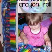 Make A Crayon Roll