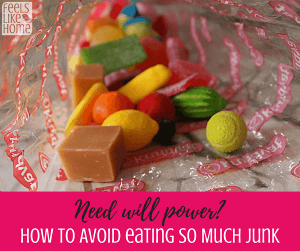 Tips and ideas for losing or maintaining a healthy weight by avoiding junk food and candy. It's necessary for healthy eating and healthy living. You CAN stick to your diet for life and feel amazing! Great how to avoid article.