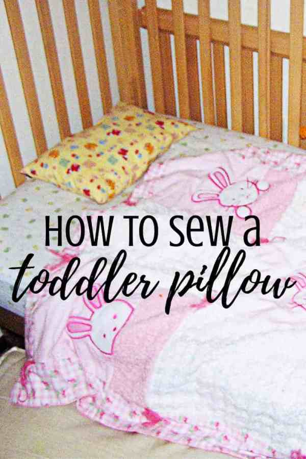 How To Make A Toddler Pillow A Toddler Quilt Feels Like Home