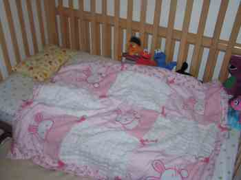 Grace's toddler bed
