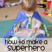 How to Make A Superhero Cape: A Tutorial
