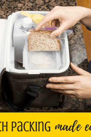 Lunch packing tips & ideas for kids or adults - Whether it's back to school time or not, most of us pack lunches every day. Make lunches fun and simple with these good ideas for work, school, or road trip meals!