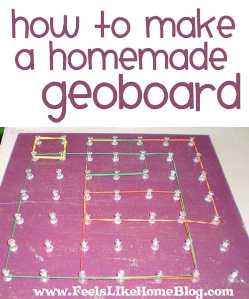 How to Make a Geoboard - Feels Like Home™