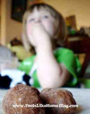 eating irish potato candy