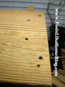 how to build a raised garden bed joints