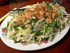 oriental cabbage salad