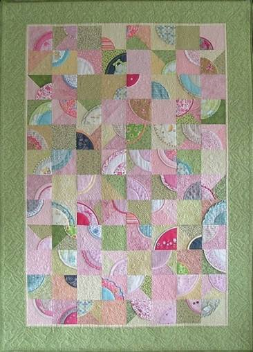 A baby clothes quilt