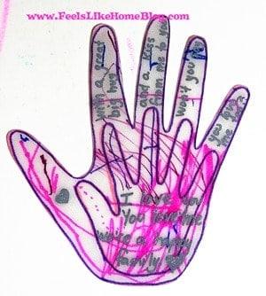 Kissing Hand Craft