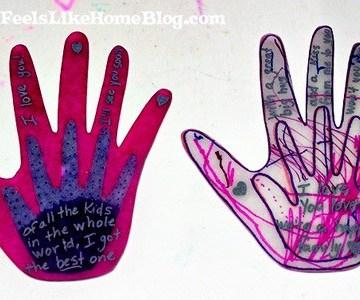 A close up of hands